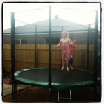 Great afternoon on the trampoline #premiertrampolines