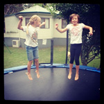 Who can jump the highest? #PremierTrampolines